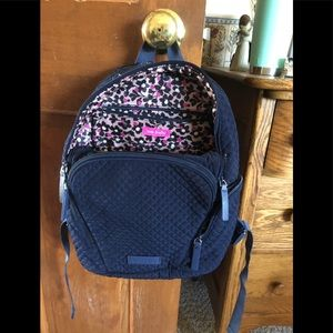 Vera Bradley microfiber small backpack